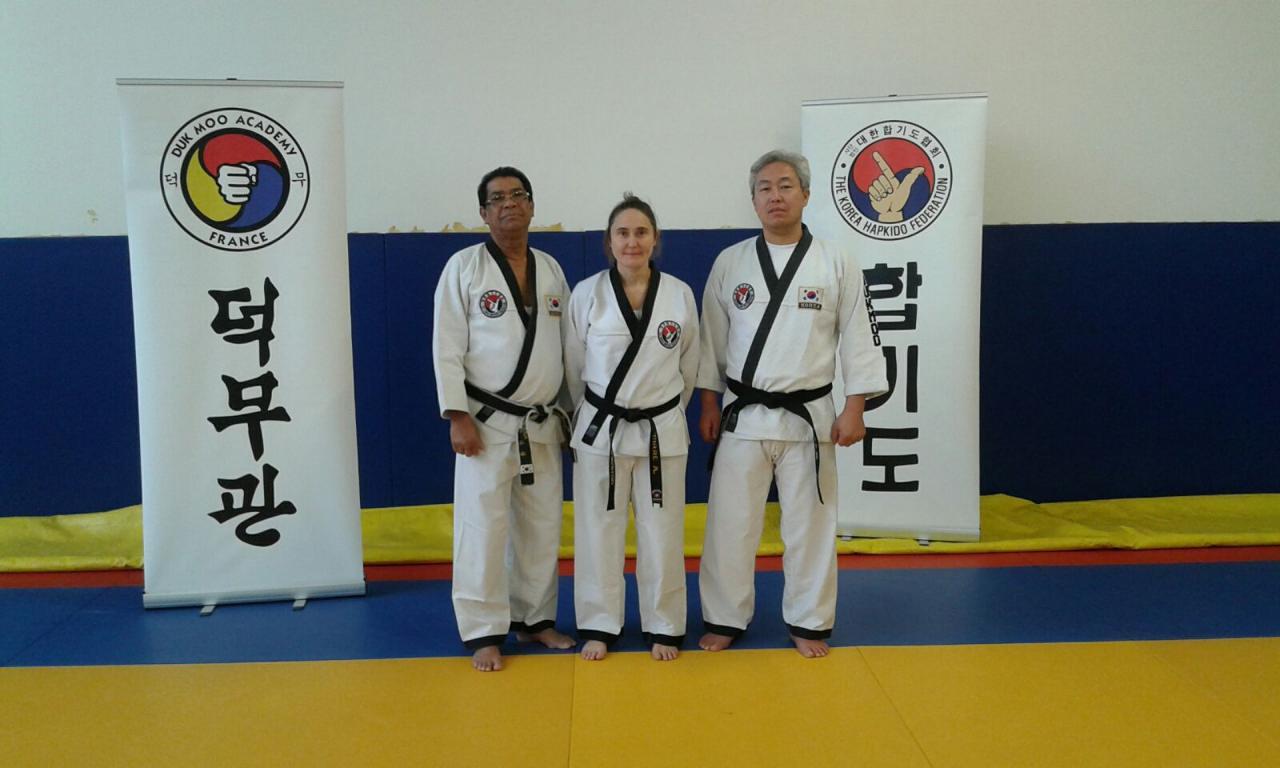 Stage Hapkido Maître KIM B.